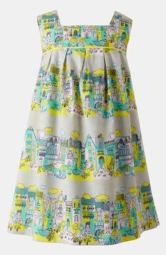 Mini Boden Pleated Print Dress (Toddler) | Nordstrom