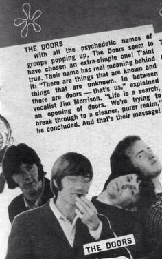 The Doors : Jim Morrison