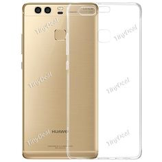 Ultra-thin Transparent Soft Silicone Back Case for HUAWEI P9