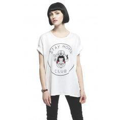Camiseta Camiseta STAY HOME DOGS LOOSE importada de Canada