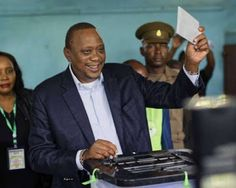 http://ift.tt/2gJVlRO http://ift.tt/2zejScPKenya was stuck in a dangerous limbo Saturday as President Uhuru Kenyatta took an unassailable lead in a disputed poll that has sparked violent protests in which nine have died. Kenyatta was leading with 97 percent of votes compared to less than one percent for his rival Raila Odinga who boycotted the repeat election according to a tally by the Daily Nation media group of unofficial results from 80 percent of constituencies. However turnout appears…
