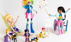 Toy Like Me campaign - The toy industry shuts out children with disabilities. We want to change that - http://www.cosmopolitan.com/lifestyle/news/a40588/makies-dolls/