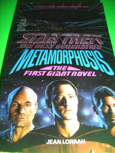 Metamorphosis by Jean Lorrah STAR TREK 1ST POCKET BOOKS PRINTING 1990