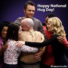 Happy #NationalHugDay, let's bring it all in. #CommunityLivesOn