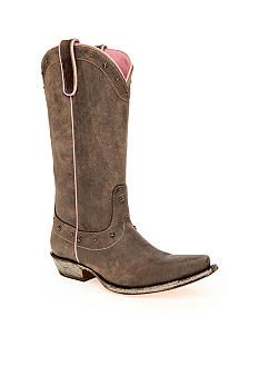 Lauren Jones Devina Cowboy Boot #belk #shoes #cowboyboot