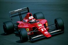 1989 Ferrari 640 (Nigell Mansell)