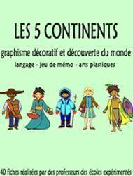 5 continents (complet plein de ressources et d'idées) +++                                                                                                                                                     Plus