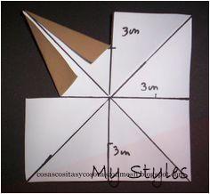 Estrella de papel facilisima de hacer Cómo hacer una estrella de papel grande paso a paso ,hoy quiero enseñarte la man era ستاره کاغذی mas fácil d. Origami And Kirigami, Paper Crafts Origami, Cardboard Crafts, Origami Easy, Origami Stars, Origami Tutorial, Christmas Origami, Christmas Paper, Diy Arts And Crafts
