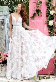 0b5ae606696 Sherri Hill 11314 Sherri Hill White Dress