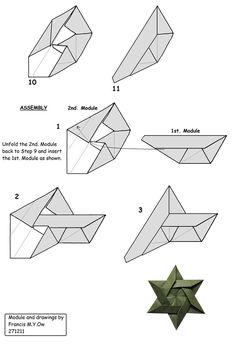 6 Piece Star Of David