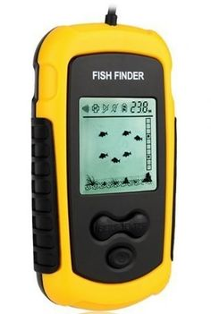patented sonar fish identifier technology * • led beacon, Fish Finder