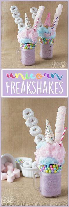 Unicorn Freakshakes!