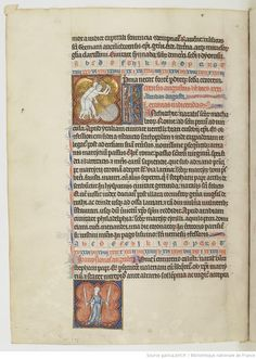 Mois d'août - Martyrologe d'Usuard, Saint-Germain-des-Prés, v. 1266-1279 - Paris, BnF, lat. 12 834, fol. 64v