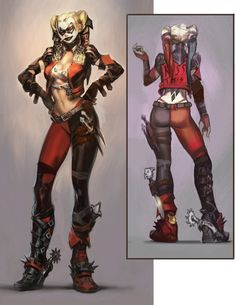 Harley Quinn Injustice | harleyquinn-injustice-alt-concept.jpg (348611 bytes)
