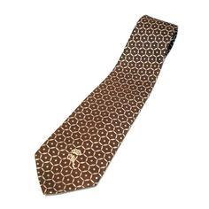 f3a3d6aa7b02 70s Countess Mara Silk Necktie. Brown Tie, Men's Vintage, Neckties ...