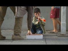 The littlest flutist, Syrian refugee boy | ChildreninShadow.wordpress.com