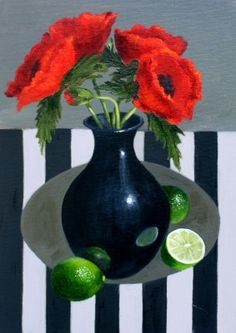 Gail POPE-Poppies and Limes