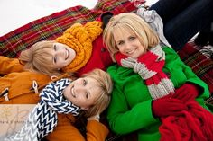 Winter Shoot - I like the blanket idea!