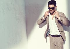 David Gandy for Massimo Dutti Spring 2011 Campaign by Paola Kudacki