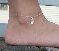 The Phyllis Anklet  Small Custom Sterling Silver by SeizeTheNight, $25.00