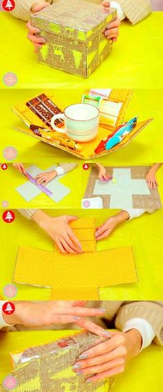 New Diy Manualidades Gift Ideas Navidad Ideas Crafts For Boys, Diy For Kids, Diy And Crafts, Diy Gift Box, Diy Box, Boite Explosive, Paper Crafts Origami, Exploding Boxes, Original Gifts