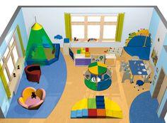 Kita spreesprotten nach dem umbau indoor pinterest for Raumgestaltung neufeld