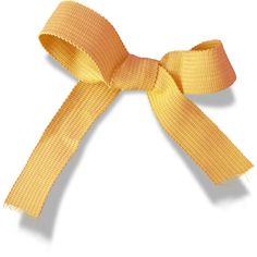 sussieM Welcome my Little Bear Yellow Ribbon sh.png ❤ liked on Polyvore featuring bow