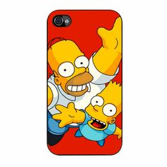 Homer and Bart iPhone 4/4s Case