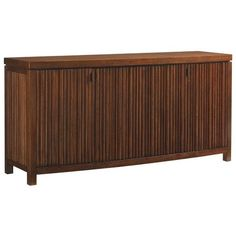 Tommy Bahama Island Fusion Saporo Wood Buffet ($4,079) ❤ liked on Polyvore featuring home, furniture, storage & shelves, sideboards, lumber furniture, island furniture, wooden sideboards, drawer furniture and home wood furniture