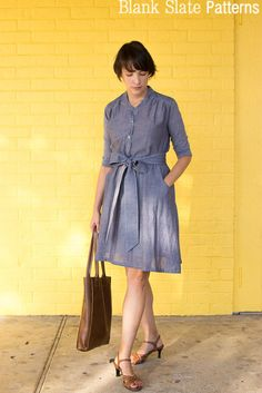 Marigold Dress Pattern // Blank Slate Patterns