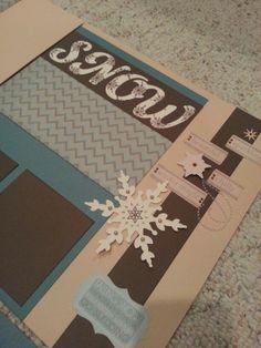 Frosted scrapbook workshop--jan