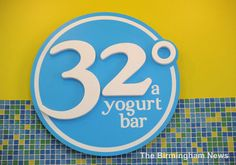 frozen yogurt chain 32 degrees still expanding. love this place!