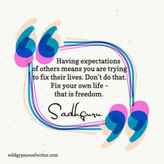 Freedom - Sadhguru Quotes - Quote of the Day - Inner Wisdom - Wild Gypsy Soul Writer - Inspirational Quote - Life's Quotes - Freedom Quotes Life, Life Quotes, Freedom Writers Quotes, Living Quotes, Spiritual Quotes, Wisdom Quotes, Quotes To Live By, Pretty Quotes, Amazing Quotes