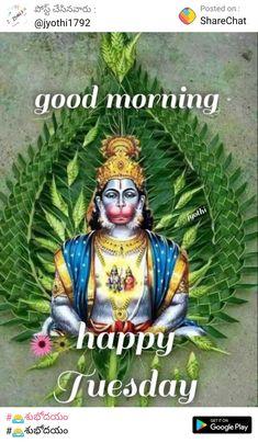 Jai Hanuman, Durga Maa, Good Morning Tuesday, Happy Tuesday, Good Morning Beautiful Images, Morning Images, Hanuman Images, Lord Krishna Wallpapers, Gold Ring Designs
