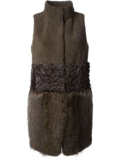 Meteo By Yves Salomon Lamb And Marmot Fur Long Vest - Nike - Via Verdi - Farfetch.com