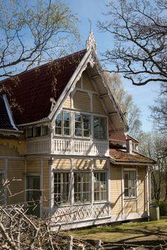 Scandinavian Cottage, Swedish Cottage, New England Style, Home Fashion, My Dream Home, Tiny House, Sweet Home, House Ideas, Villa