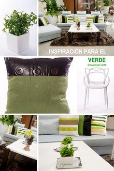 Ideas Para Combinar El Color Verde Casafebus
