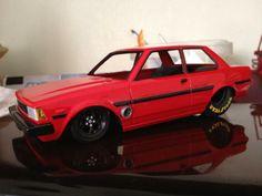 1983 Corolla Drag Car.