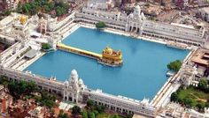 The Golden Temple, Amritsar, India. The Golden Temple (informal name in… Temple India, Indian Temple, Golden Temple Amritsar, Places To Travel, Places To Visit, Amazing India, Amazing Pictures, Indian Architecture, Ancient Architecture