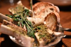 Oven Roasted Bone Marrow from Blue Duck Tavern, Washington, DC…one of the most amazing foods ever!!