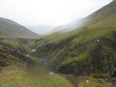 Islande, route 590 pluie et vent