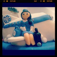 pilot flight attendant wedding cake toppers our cake topper my husband is a comercial pilot and i 18522