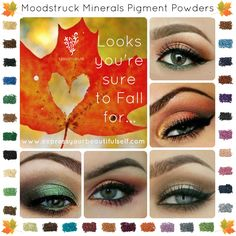 Younique eye looks for Fall