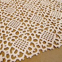 Venetian Square ~ free crochet pattern