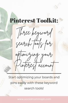 A Pinterest Marketing Strategy needs a solid keyword strategy so discover the tools you can start utilizing in this latest post! One tool is so basic you might have missed out on it already! Advertising Strategies, Email Marketing Strategy, Facebook Marketing, Online Marketing, Pinterest For Business, Promote Your Business, Pinterest Marketing, Social Media Tips, Business Tips