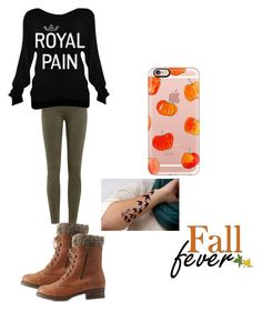 """fall fever"" by quadratic on Polyvore featuring Charlotte Russe, J Brand and Casetify"