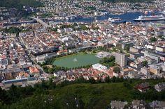 https://flic.kr/p/aFngCn | nor_2011_368 | Bergen vom Fløyen aus gesehen