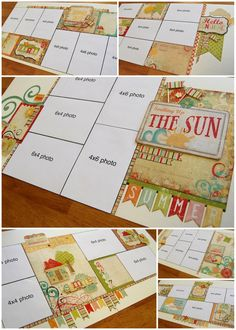 scrapbook generation: Eight new kits by Allison and Debbie  (using simple stories sets)