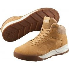 The Puma DESIERTO SNEAKERS will catch your eye with their timeless design. Cool Boots, Combat Boots, Sneaker High, Sneaker Boots, Mens Winter Boots, Winter Shoes, Puma Drift Cat, Puma Suede Classic, Men Boots
