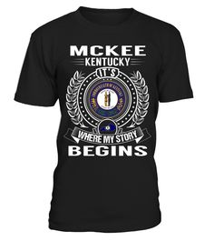 McKee, Kentucky - My Story Begins